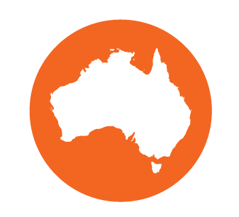 Australia Wideprinting Icon Orange 01